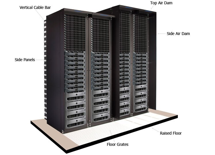 Server Racks Bayed